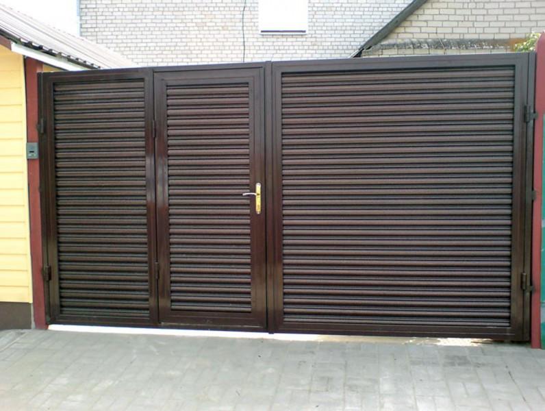 Ворота для гаража откатные